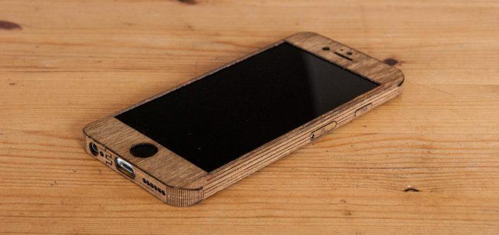iphone qui envoie du bois